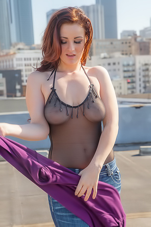 Emmy On The Rooftop