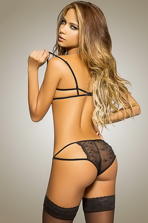 Catalina Otalvaro Poses In Super Sexy Lingerie