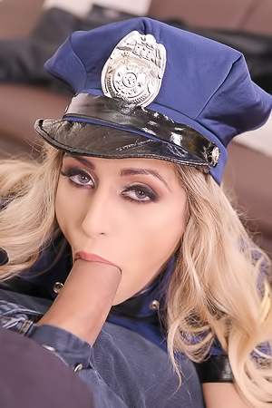 Police Officer Mia Linz Gets Two Cocks In Ass At Once