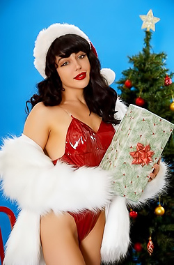 Naked Christmas Beauty Whitney Wright